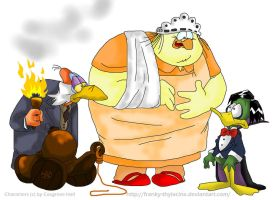Igor, Nanny and Duckula by Efalt
