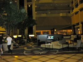 The Lobby of The Marriott by Urvy1A