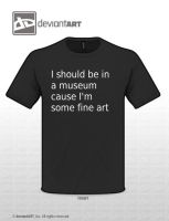 T_Shirt 2012 Design - Fine Art by KeKat147