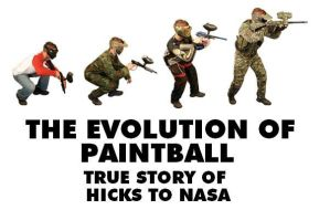 EVOLUTION OF PAINTBALL by Aerobot