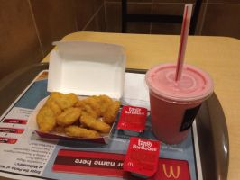 My meal at McDonald's by Prince5s