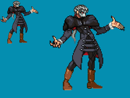 Sprite Work: Dread Lord Xeranad (Earth-56) by SXGodzilla