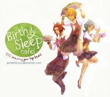 Birth by Sleep Cafe by JesterHikaru