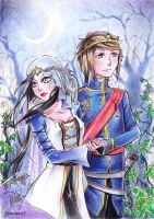 Royal couple 1 by SimonneX