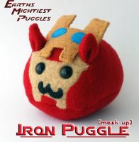 Earths Mightiest Puggles - Iron Puggle by callykarishokka