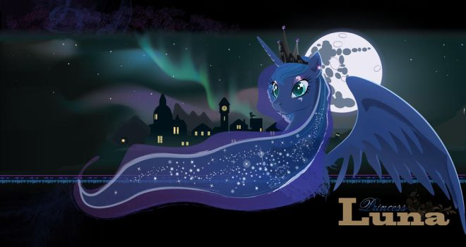Princess Luna's Aurora by Devinian