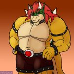 A Bulky Bowser Doodle by DarkDijinArtie89