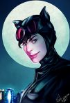 Meow! - Catwoman by Forty-Fathoms