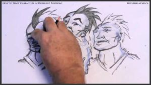 Learn to draw characters in different positions 30 by drawingcourse