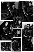 Shackled Loki On The Stairs by Forestina-Fotos