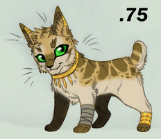 Egyptian Themed Kitty 4 GONE by KasaraWolf