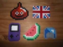 Random Collection - Hama Beads by TheRedGummyBear