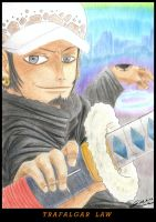 Trafalgar Law 2 years later by Drako-Raven