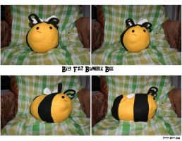 Big Fat Bee by Plush-Nerd