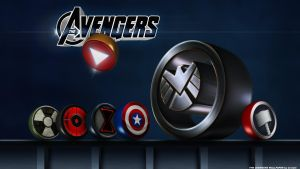 Avengers Wallpaper by Crotale