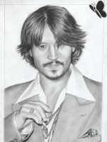 Johnny Depp by D17rulez