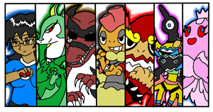 Pokemon Black Team Battlecut by Gamerdragon07