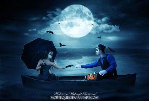 .:Halloween Midnight Romance:. by Morteque