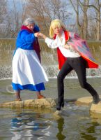 Howl and Sophie Cosplay Seven by joshietakashima