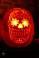 Day of the Dead Pumpkin by dssken