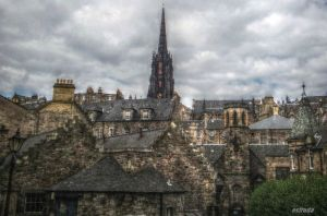 A Small Part Of Edinburgh by Estruda