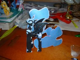 Nightmare Moon Papercraft by FyreWytch