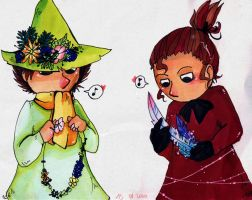 Snufkin and Myy by inu-steakcy