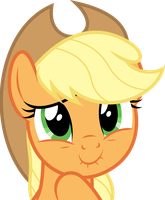 Constipated Applejack by dasprid