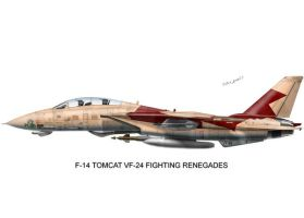 F-14 Tomcat VF-24 by peter-pan03