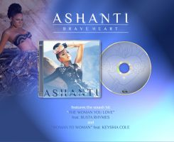 Ashanti New Album Promo 'BraveHeart' by Toblerone22