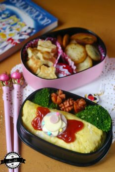 Bento Omurice Sailor Moon by RiYuPai