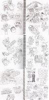 Pages from the Doodlebook by eddsworld