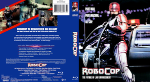 RoboCop Unrated Director's Cut Blu Ray Cover by NiteOwl94