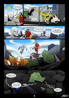 Commission: Agent Prime Page 3 by VexusVersion