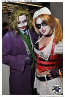 Harley an' her Puddin' by anda-chan
