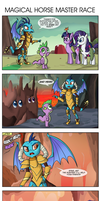 Comic 75: Magical Horse Master Race by ZSparkonequus