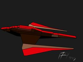 Gallant class battle cruiser1 by AlexAdrian2099