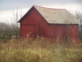 Red Barn by mmistress-stock by Stock-Up