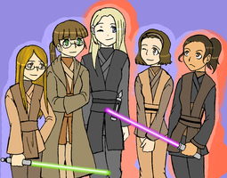 The Tinkers Creek Jedi Council by Duelistabbeyryou