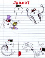 Jailbot doodles by Wolf-Shadow77