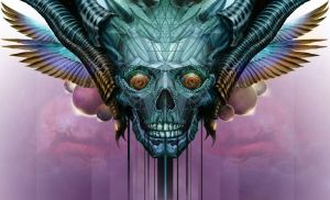 Skull-5 Orion by Markelli