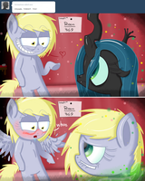Jerky Hooves having some dirty time with Chrysalis by Extra-Dan