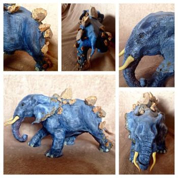 Crumbling Elephant by TinyThumbs
