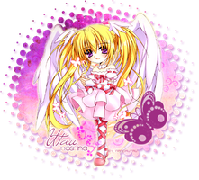 Signature Seraphic Charm Chibi by sweetnandy