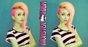 Monster High Venus Cosplay by Helen-Stifler