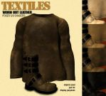 Textiles - Worn Out Leather by giskard