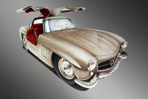 Gullwing by Monstroys