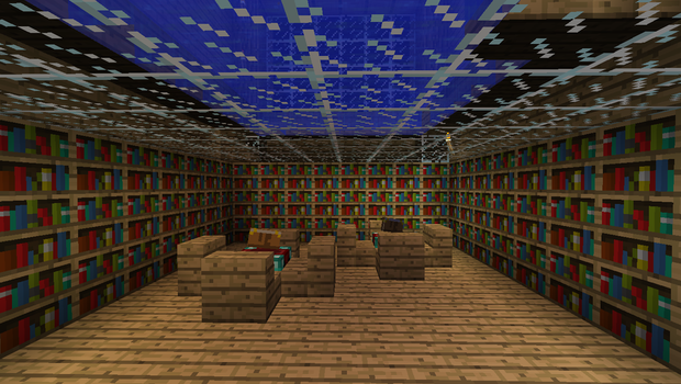 Minecraft Library by popking247