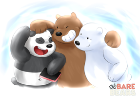 We Bare Bears by WarGreymon43