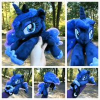Princess Luna Beanie - Determined by equinepalette